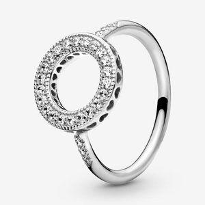 🍓Pandora Sparkling Halo Ring